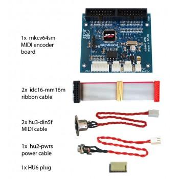 mkcv64smf-bundle #1 MIDI Encoder System