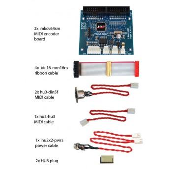 mkcv64smf-bundle #2 MIDI Encoder System