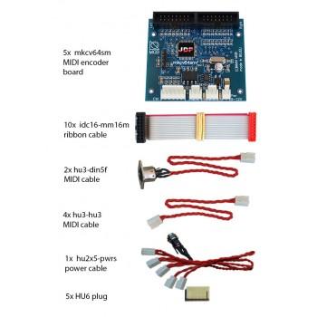 mkcv64smf-bundle #5 MIDI Encoder System