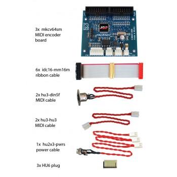 mkcv64smf-bundle #3 MIDI Encoder System